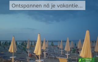 Ontspannen na de vakantie - Sense Your Balance - IJsselstein